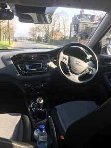 Finesse Driving Academy - Car Interior 1